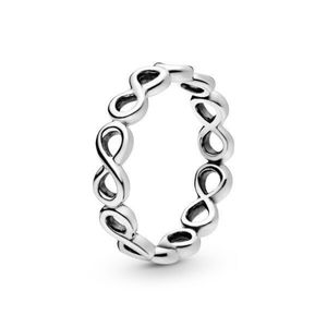Pandora stackable infinity ring